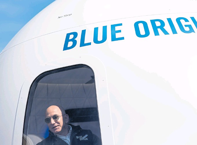?? NYT ?? Bezos fundó Blue Origin con el objetivo de volver a la Luna con una misión tripulada