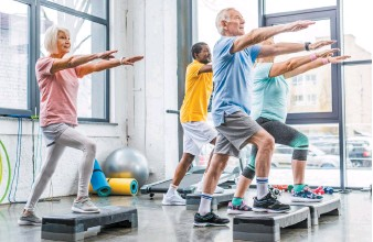 ?? GETTY IMAGES ?? The Blue Zones Project in Airdrie will be working to help seniors live healthier lives, with exercise a key component.