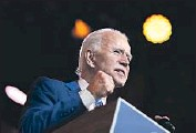 ?? Carolyn Kaster Associated Press ?? PRESIDENT- ELECT Joe Biden's Thanksgiving eve address signaled he is claiming the bully pulpit early.