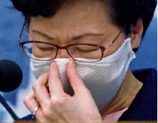 ??  ?? Hong Kong chief executive Carrie Lam has been criticised.