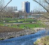 ??  ?? Viele neue schöne Plätze am Fluss entstanden in der Nördlichen Geraaue.
