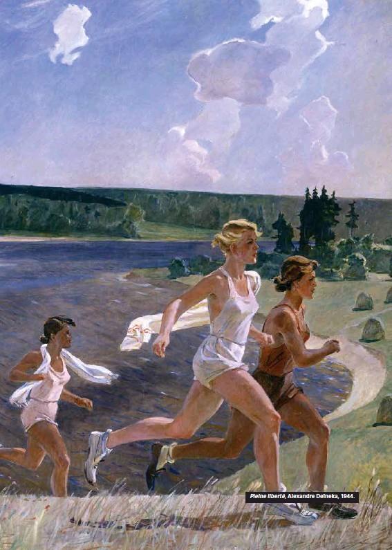 ??  ?? Pleine liberté, Alexandre Deïneka, 1944.