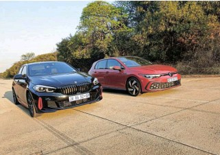 ?? ?? Left: The BMW 128ti was created as a direct rival to the iconic Golf GTI.