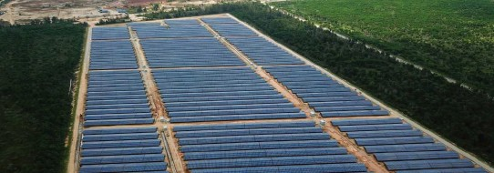 ??  ?? Going green: RE Gebeng, a solar photovoltaic developer company, is instrumental in the successful implementation of the 38MWP solar project in Pahang. It is now part of RENIKOLA.