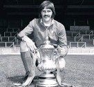 ??  ?? Heighway with the FA Cup