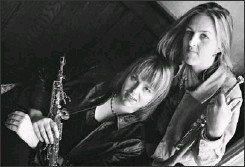 ??  ?? Christine and Ingrid Jensen and Nordic Connect are tough, evocative and talented.