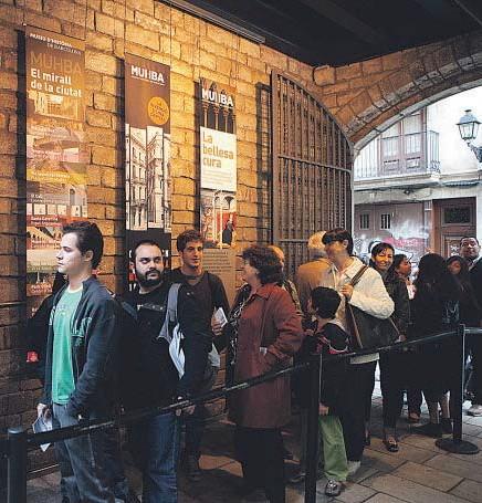 ?? PEP HERRRER0 ?? EN 2014, EL MUSEU D'HISTÒRIA DE BARCELONA RECIBIÓ MÁS DE 973.000 VISITANTES, UNA CIFRA HISTÓRICA
