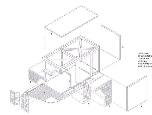 ??  ?? Exploded Axonometric View
