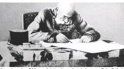 ??  ?? Franz Joseph saß bis zum letzten Tag seines Lebens am Schreibtisch