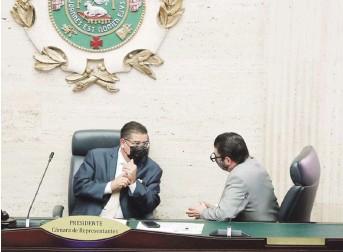 ?? Archivo ?? PODER. El borrador de reglamento le otorga poderes exclusivos al presidente de la Cámara en el manejo de manifestaciones públicas y seguridad en las gradas.