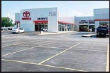 ??  ?? The new car lot at the Jim White Toyota just outside of Toledo, Ohio, is depleted on Friday, Aug. 27, 2021, with only a few new vehicles available for sale. (AP)