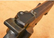??  ?? In keeping with many of its contemporaries, the gun featured basic, but nevertheless functional, cast steel open sights