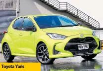 ??  ?? Toyota Yaris