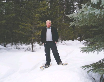 """??  ?? Merlin Blackwell, the current mayor of Clearwater, was a self-described """"park brat"""" who grew up working in and around the B.C. Parks system and later became a private parks contractor. """"I still have great hope for our provincial parks,"""" he says."""