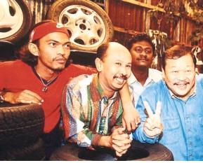??  ?? Zaibo starred in the popular series Spanar Jaya.