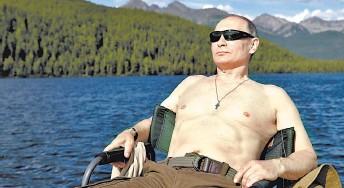 ??  ?? Vladímir Putin, presidente de Rusia.
