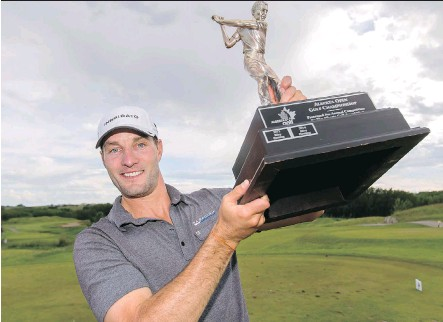 """?? LYLE ASPINALL ?? James Love won the 2015 Alberta Open, but has been limited to only 10 starts on the Mackenzie Tour over the past two summers. """"Obviously I haven't played my best to have to be at Q-School, but I just want to get back out there and have a full..."""