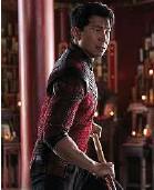 ?? Marvel Studios ?? L'acteur Simu Liu incarne un héros malgré lui dans ce film Marvel.