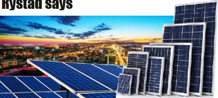 ??  ?? Solar energy