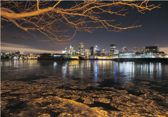 ?? P H O T O S : J O H N K E N N E Y ?? Montreal plans to swap out 110,000 lights across the city. In return, it hopes to cut its electricity bill by half and reduce maintenance costs by 55 per cent.