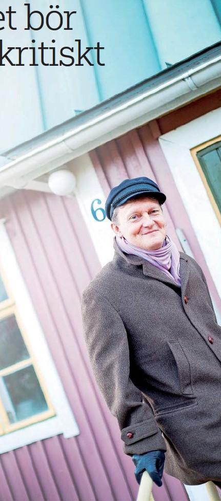 ??  ?? Globalt och lokalt. Frank Johansson, som mest jobbat med internationella frågor, betonar de lokala insatserna.