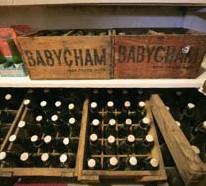 ??  ?? Enkele kratjes Babycham.