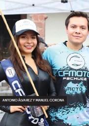 ??  ?? ANTONIO ÁLVAREZ Y MANUEL CORONA