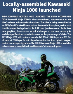 Pressreader Bike India 2018 07 10 Locally Assembled Kawasaki