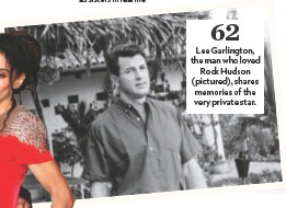 Pressreader People Usa 2018 12 31 Lee Garlington The Man Who Loved Rock Hudson Pictured Shares Memories Of The Very Private Star