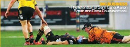 ??  ?? BIG BUSINESS The retention of Sam Cane, Aaron Smith and Dane Coles is critical.