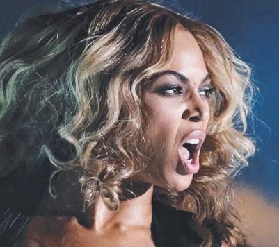 ??  ?? SLIM PICKINGS: Beyoncé has gone vegan, gluten-free, organic and non-GMO.