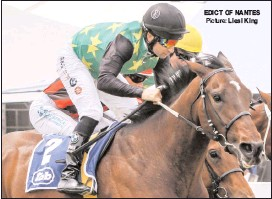 ?? Picture: ?? (12.35) - WELCOME TO VAAL MAIDEN JUVENILE PLATE (Fillies) of R95000 over 1200m EDICT OF NANTES Liesl King (16.45) - NEXT VAAL RACE MEETING IS THURSDAY 6 JULY FM 64 HANDICAP (F & M) of R82000 over 1400m