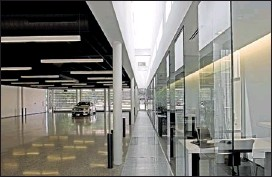 ??  ?? COURTESY LANGDON CLAY The $1.3 million renovation at the East Memphis Mercedes-Benz dealership at 5389 Poplar won a design award this year. A new dealership is set to open next year in Collierville.