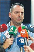 ??  ?? El líder sindical, Antolín Goya