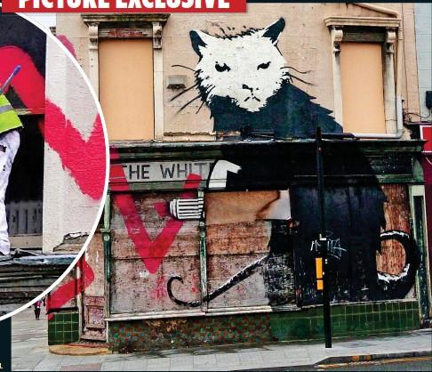 Millward banksy joy Banksy age,