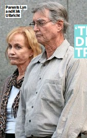 ??  ?? Parents Lyn and Kirk Ulbricht