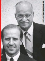 "??  ?? De su padre, Joseph Biden Sr., vendedor de autos usados, recuerda que siempre le decía: ""Champ (campeón), si te caes, te vuelves a levantar"". Falleció en 2002."