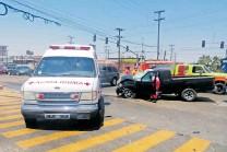 ??  ?? La Cruz Roja ha tenido mucho movimiento CORTESÍA: LA VOZ DE LA FRONTERA
