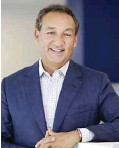 ??  ?? United Airlines CEO Oscar Munoz. United Airlines said that Munoz has been admitted to a hospital. — AP
