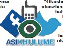 ??  ?? THUMELA umbono ngalolu daba kuFacebook (Isolezwe), kuTwitter (@isolezwenews) noma umqhafazo ku-45773. I-sms ibiza R1,50.