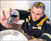 ?? Act now: ?? Checking your smoke detectors are in working order is just one part of a home fire escape plan.