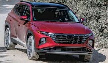 ?? PHOTO: HYUNDAI ?? There's a dramatically different look for the Tucson and there are two new hybrid powertrain options. •