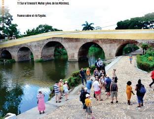 ??  ?? Puente sobre el río Yayabo.