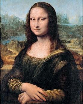 ??  ?? Icona La Monna Lisa, anche nota come Gioconda, è esposta al Louvre dal 1797