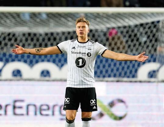 ?? OLE MARTIN WOLD, NTB ?? Alexander Søderlund har vært en storscorer i norsk fotball i mange år, for Haugesund og Rosenborg. Nå er han klubbløs.