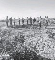 ?? FOTO: CORTESÍA ?? > El colectivo durante una de las excavaciones.
