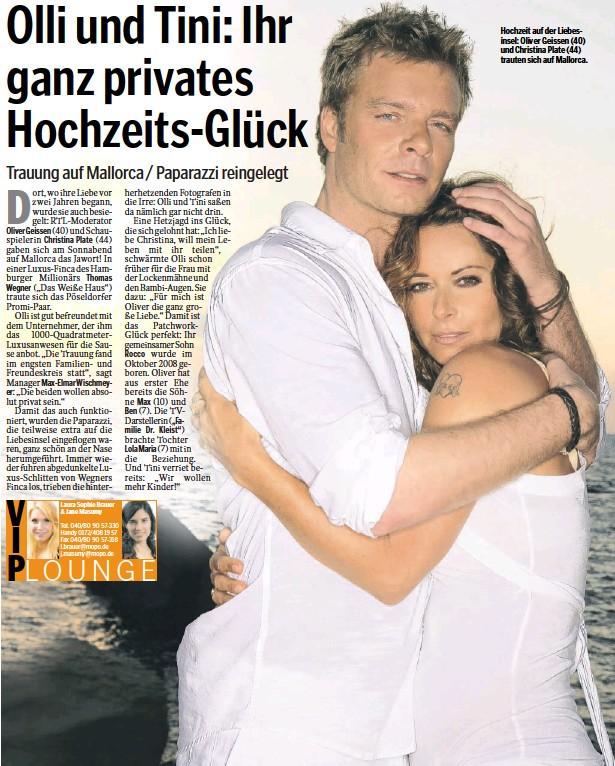 Pressreader Hamburger Morgenpost 2009 09 21 Olli Und Tini Ihr