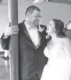 ?? PROVIDED BY THE SEMPEKS ?? Zachary and Abbie Sempek at their wedding in July 2020.