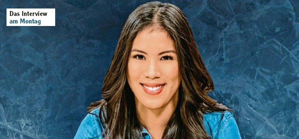 """?? Foto: Svea Pietschmann, ZDF ?? Der promovierten Chemikerin und preisgekrönten Journalistin Mai Thi Nguyen‰Kim ist mit ihrem aktuellen Buch """"Die kleinste gemeinsame Wirklichkeit""""wieder ein Bestseller gelungen."""