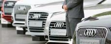 ?? Archivfoto: Marijan Murat, dpa ?? Audi‰Modelle waren 2020 nur in China stärker gefragt.